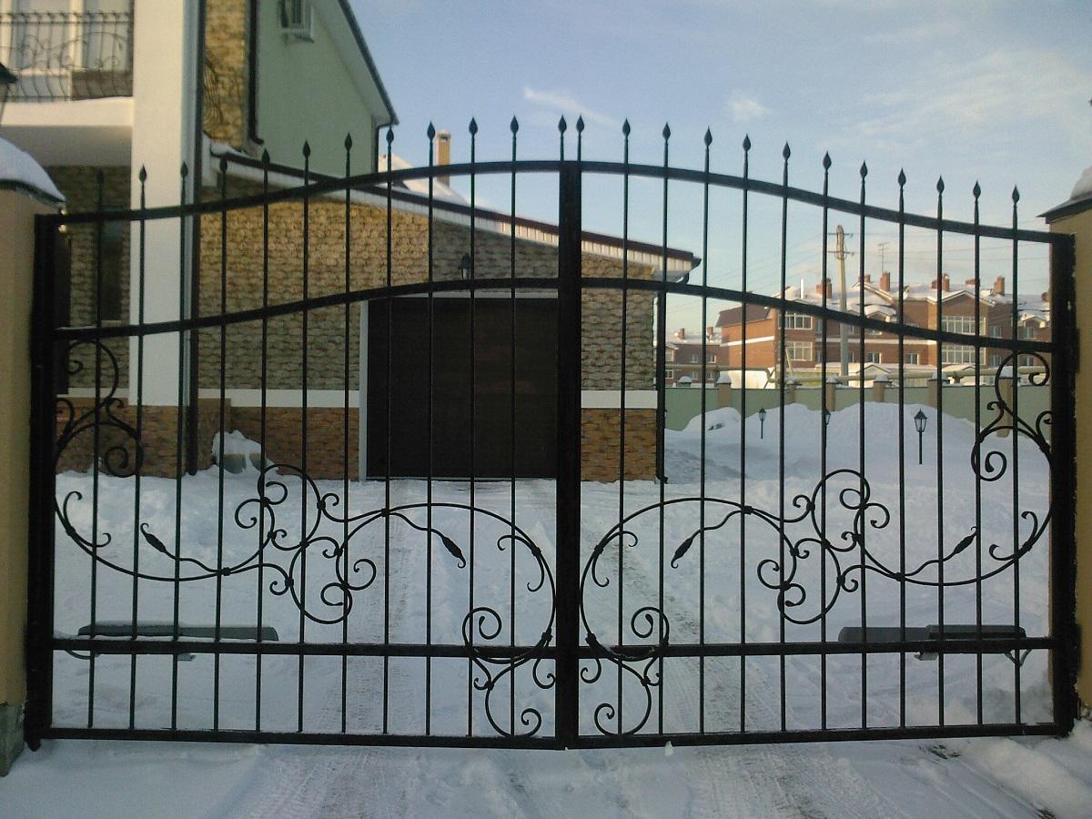 Екатеринбург заказать ворота металлические прайс простые ворота для дачи сумы дешево